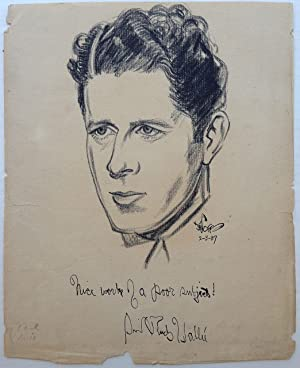 Signed Original Pencil Portrait