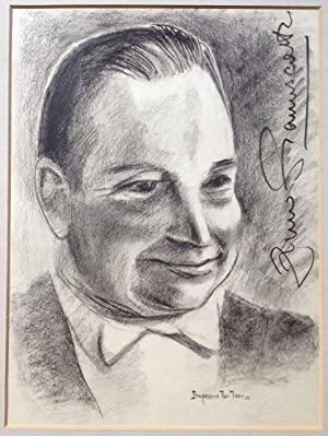 Original Signed Portrait of Zino Franciscotti