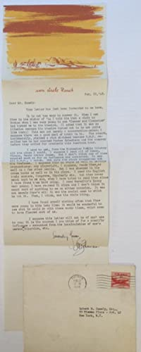 Professionally Revealing Typed Letter Signed: BEHRMAN, S. N. (1893 - 1973)