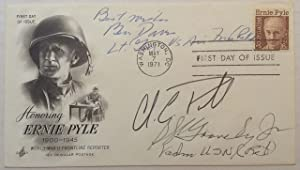 Signed First Day Cover