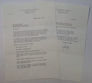 Chatty Typed Letter Signed
