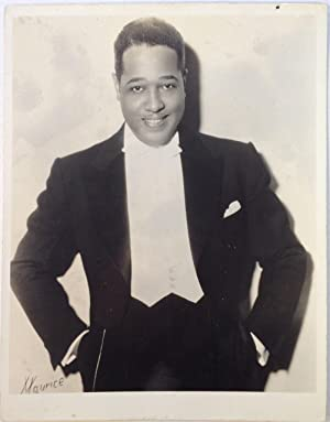 Early Promotional Photograph: ELLINGTON, Duke (1899 - 1974)
