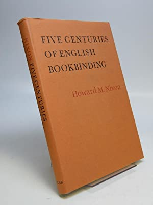 Five Centuries of English Bookbinding