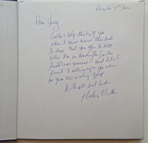 Inscribed copy of