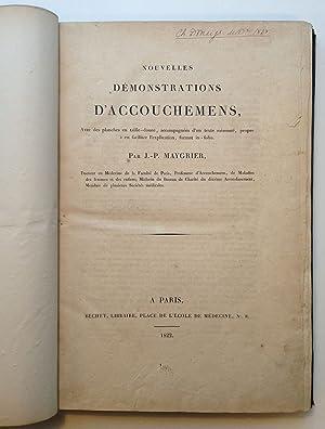 Nouvelles Demonstrations D'Accouchemens, avec des planches en: MAYGRIER, J.P.