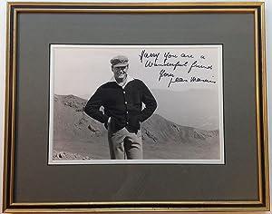 Framed Inscribed Photograph: MARAIS, Jean (1913