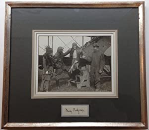 Signature Framed with a Vintage Photograph: PICKFORD, Mary (1892