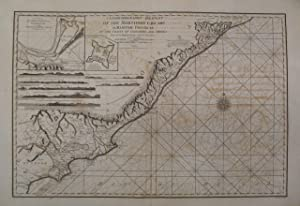 A Geohydrographic Draught of the Northern Circars or Maritime Provinces on the Coasts of Golconda ...