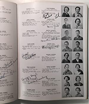 """THE LOG: JUNE 1935 -- signed yearbook: GLICKMAN, Martin """"Marty"""""""
