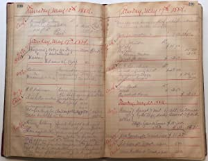 Outstanding and historically important ledger book