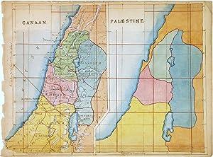 Canaan. Palestine: ANONYMOUS [Manuscript map]