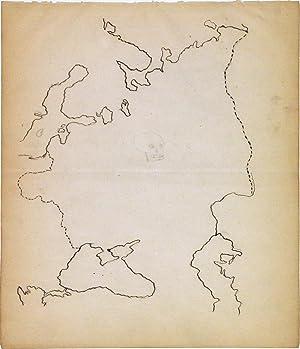 European Russia: ANONYMOUS [Manuscript map]