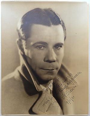Inscribed Photograph: BROWN, Joe E. (1891 - 1973)