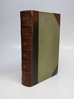 Complete Poems and Prose, 1855-1888; Authenticated & Personal Book (Handled by W.W.); Portraits f...