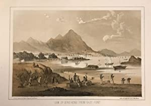 View of Hong-Kong from East Point: HEINE, Wilhelm
