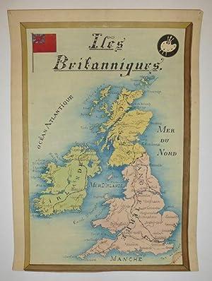 Iles Britanniques: ANONYMOUS [Manuscript map]