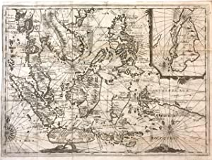 [Southeast Asia]; Rare 1725 Map of East Indies and South East Asia