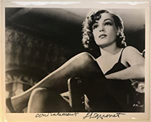 Signed vintage photograph
