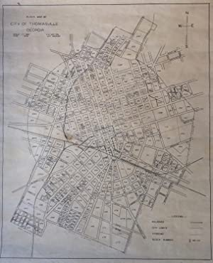 Block Map of City of Thomasville, Georgia: LAYTON, C.E.
