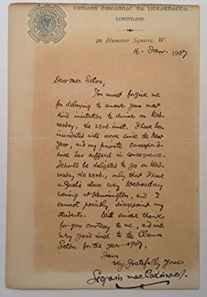 Scarce Autographed Letter Signed
