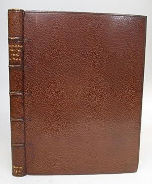 Prediche de fra Hieronymo sopra li psalmi.; Prediche utilissime, & a qualunque predicatore del ...