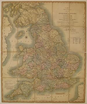 Cary's Reduction of his Larger Map of England and Wales with Part of Scotland; Containing the ...