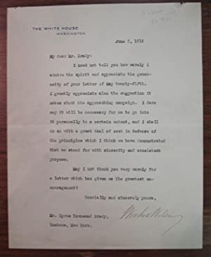 Typed Letter Signed as President