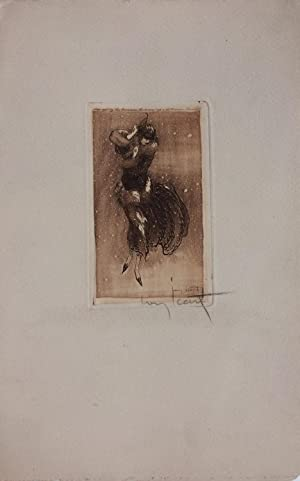 [Untitled intaglio print]; Snow