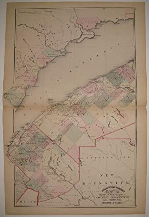 Atlas of the Dominion County of Temiscouata: WALLING, H.F.