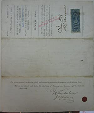 Document Signed by the Secretary of the Confederacy: TRENHOLM, George A.