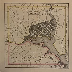 Geographical, Statistical, and Historical Map of the District of Columbia: CAREY & LEA