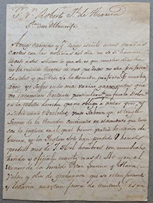 Extraordinary Autographed Letter Signed in Spanish
