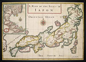 A Mapp of the Isles of Iapon: TAVERNIER, Jean Baptiste