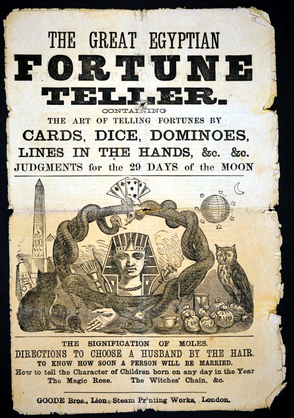 The Great Egypyian Fortune Teller