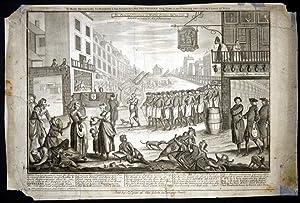 The Funeral Procession of Madam Geneva Sepr. 29 1736.