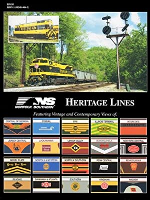 Norfolk Southern Heritage In Color: Jeremy F. Plant
