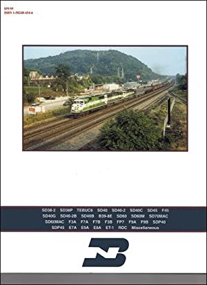 Burlington Northern Power In Color Vol. 3: Locomotives #6260-9977: Stephen M. Timko