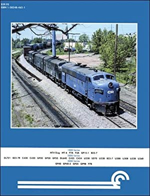 Conrail Power In Color Volume 1: 1000-3999: Robert J. Yanosey
