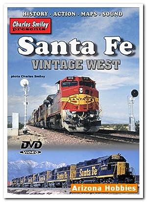 Santa Fe Railway Vintage West DVD