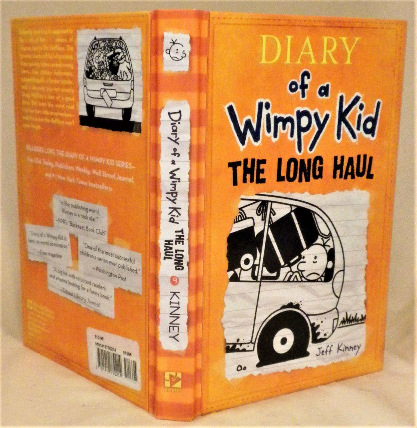 Diary Of A Wimpy Kid The Long Haul By Jeff Kinney New Hardcover 2014 1st Edition Signed By Author S Armadillo Alley Books