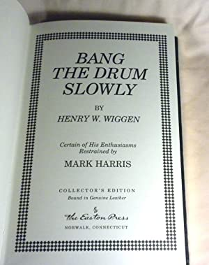 Bang the Drum Slowly: Mark Harris