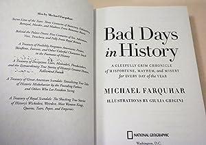 Bad Days in History: David Farquhar