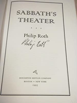 Sabbath's Theater: Philip Roth