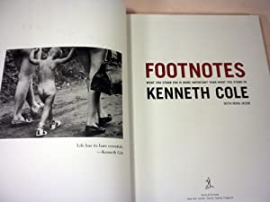 Footnotes: What You Stand For is More Important Than What You Stand In: Kenneth Cole