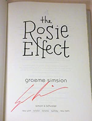 The Rosie Effect: Graeme Simsion