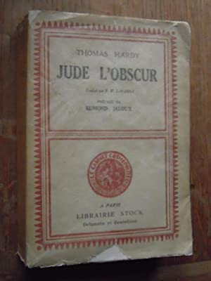 Jude l'obscur: THOMAS HARDY