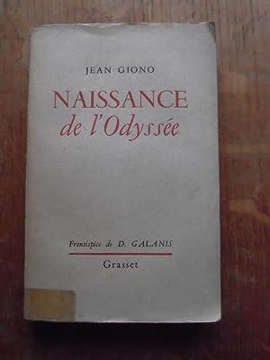 Naissance de l'Odyssée: GIONO JEAN