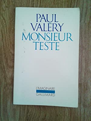 Monsieur Teste: PAUL VALERY