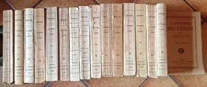 Causeries du lundi en 16 volumes (complet): SAINTE-BEUVE