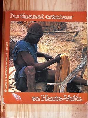 L'artisanat créateur en Haute-Volta: ANQUETIL JACQUES